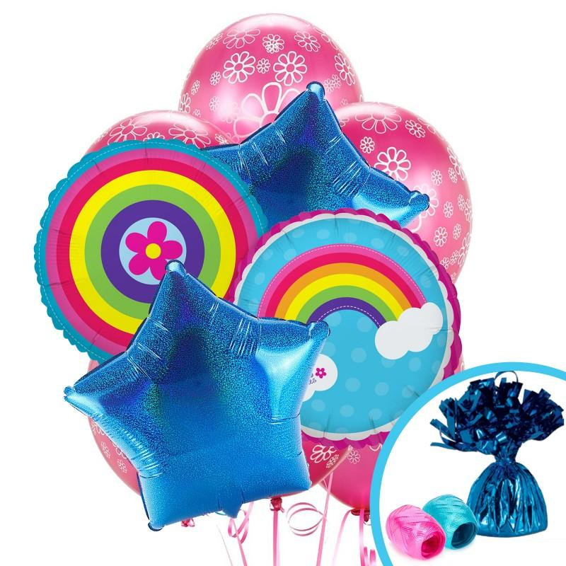Rainbow Wishes Balloons