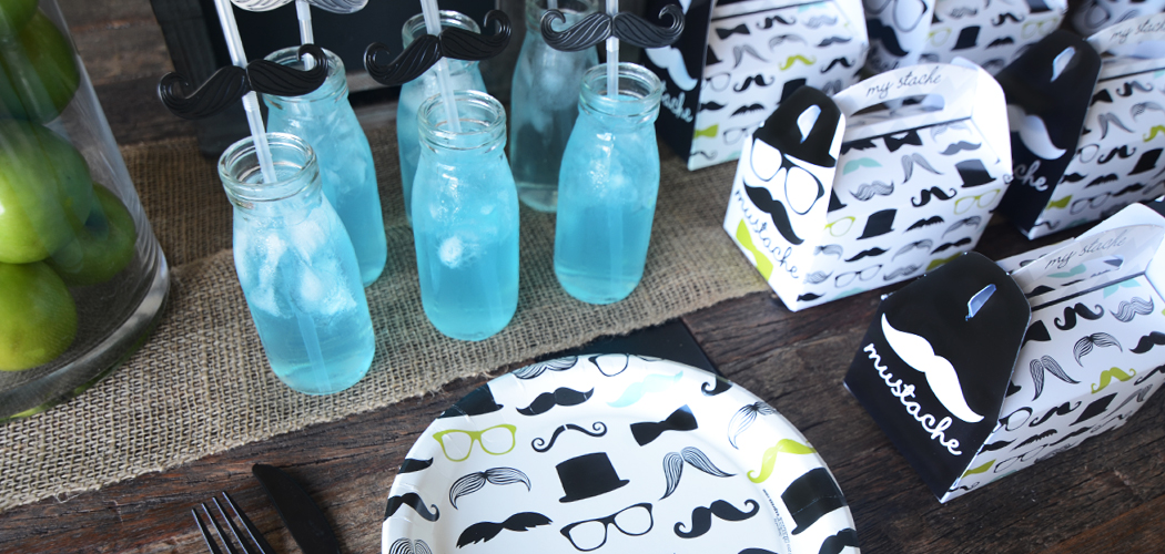 Mustache Party Theme Birthday Express