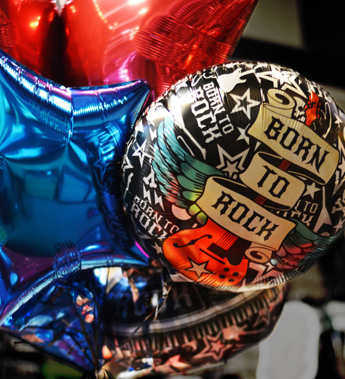 Born To Rock Party styled by GreyGrey Designs