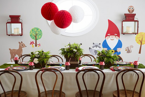 Step Into An Enchanted Forest With Our Woodland Gnome Party Theme, For  Which Guest Stylist Gianna SanFilippo Of Chic Celebrations Designed The  Decor.