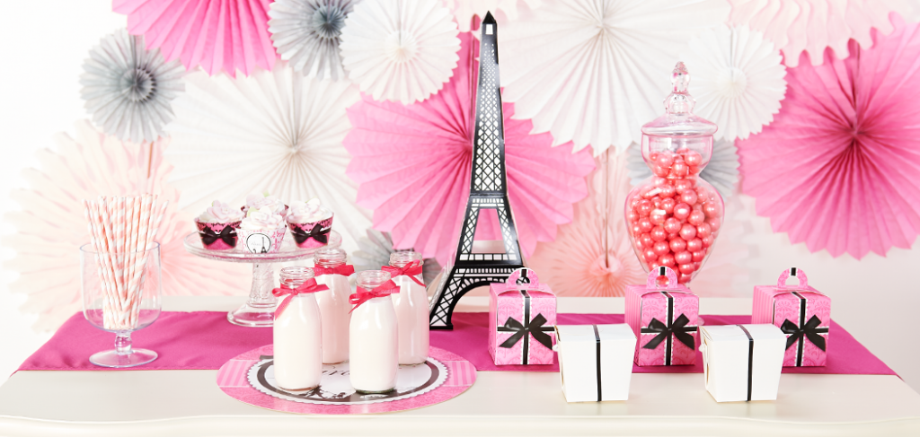 Paris Damask Celebration Birthday Express