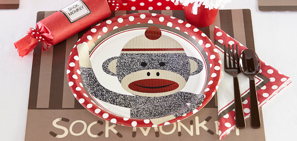 Sock Monkey Celebration & Sock Monkey Celebration | Birthday Express