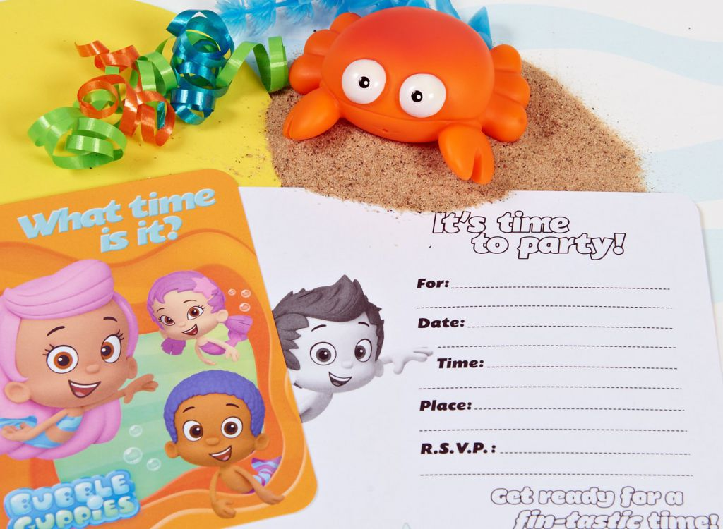 Dorable Bubble Guppies Birthday Invitations Images - Invitation Card ...