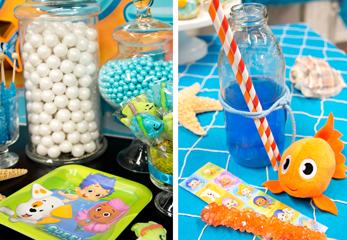 Bubble Guppies party supplies at Birthday Express.
