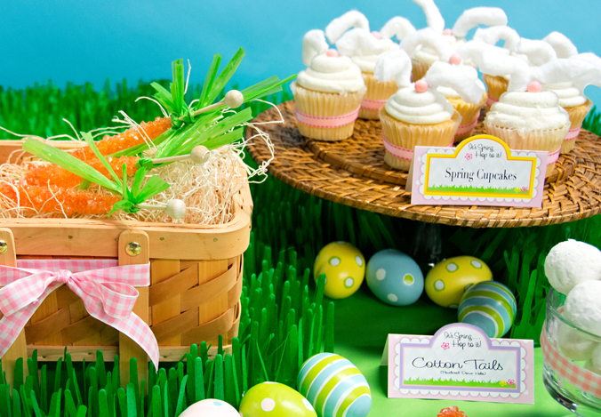 Invite family and friends to celebrate Spring with a Happy Easter party.