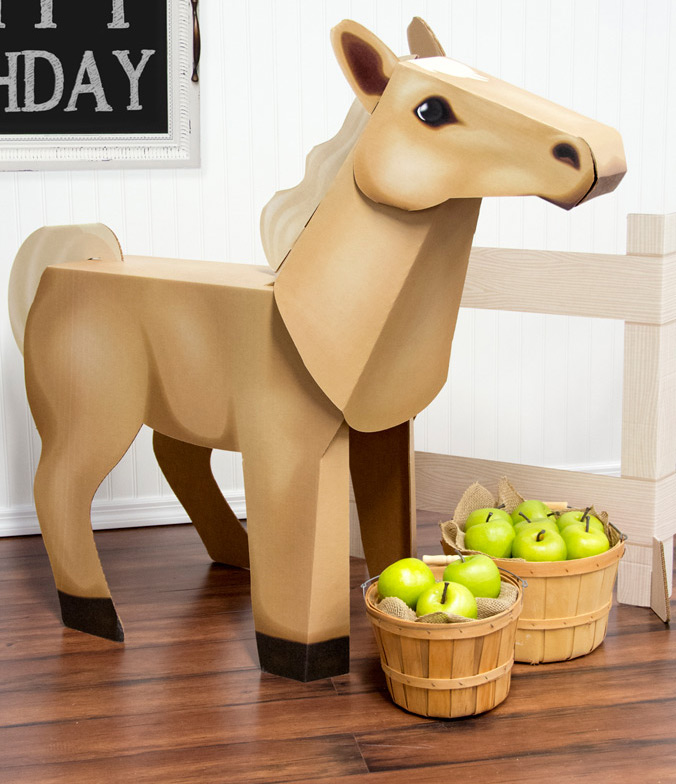Ponies Standup available in multiple colors | exclusively at BirthdayExpress.com