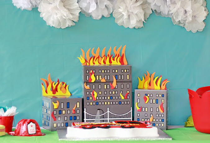 Fireman party by Magnolia Creative Co.