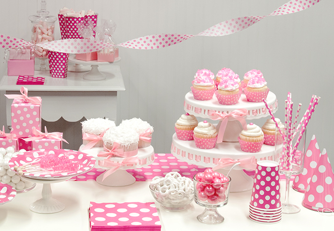 Pink Polka Dots Party Birthday Express