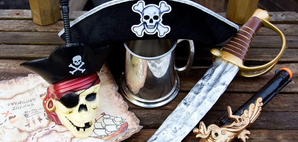 Pirate products available from BirthdayExpress.con and BuyCostume.com