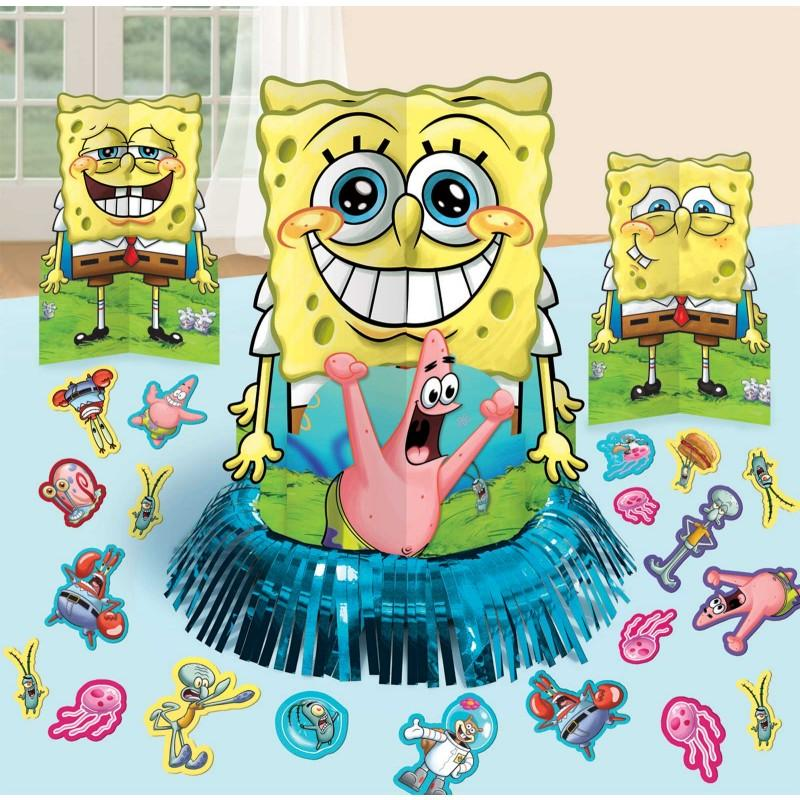 spongebob table decor