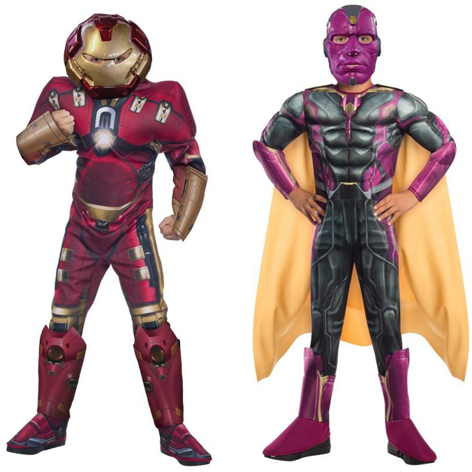 Avengers Hulkbuster and Vision Costume