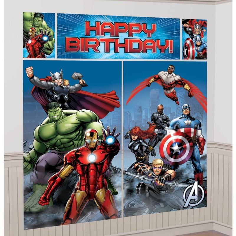 Avengers Party Birthday Express