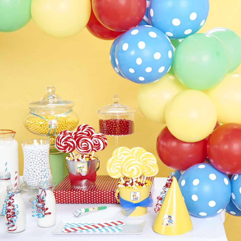 DIY Caillou Birthday Party BirthdayExpresscom