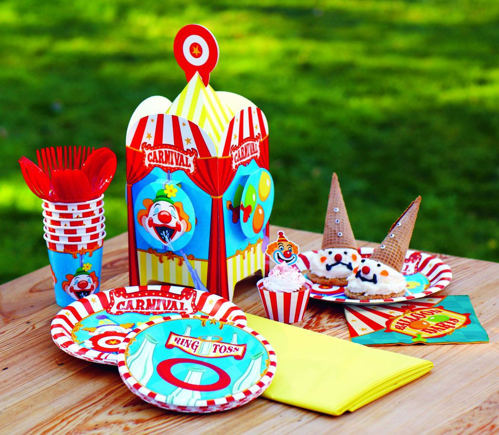 outdoor carnival party ideas birthday express
