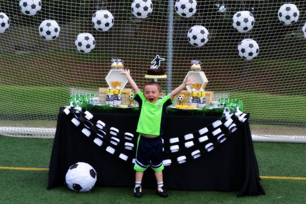 Soccer Party By Brittany Schwaigert Birthday Boys Themes