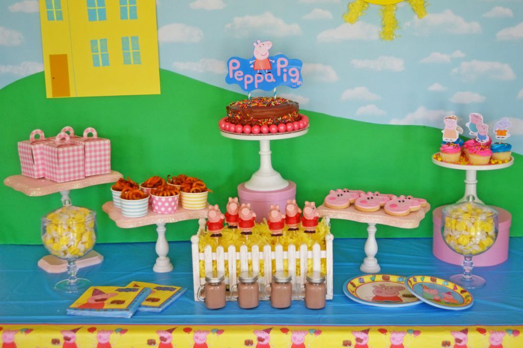 Peppa Pig Party by Brittany Schwaigert