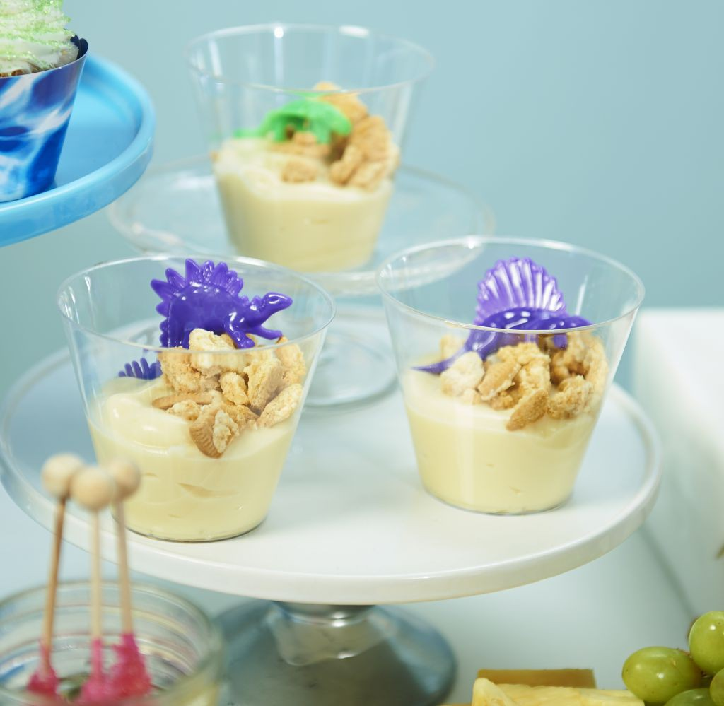 Power Rangers Pudding Cups