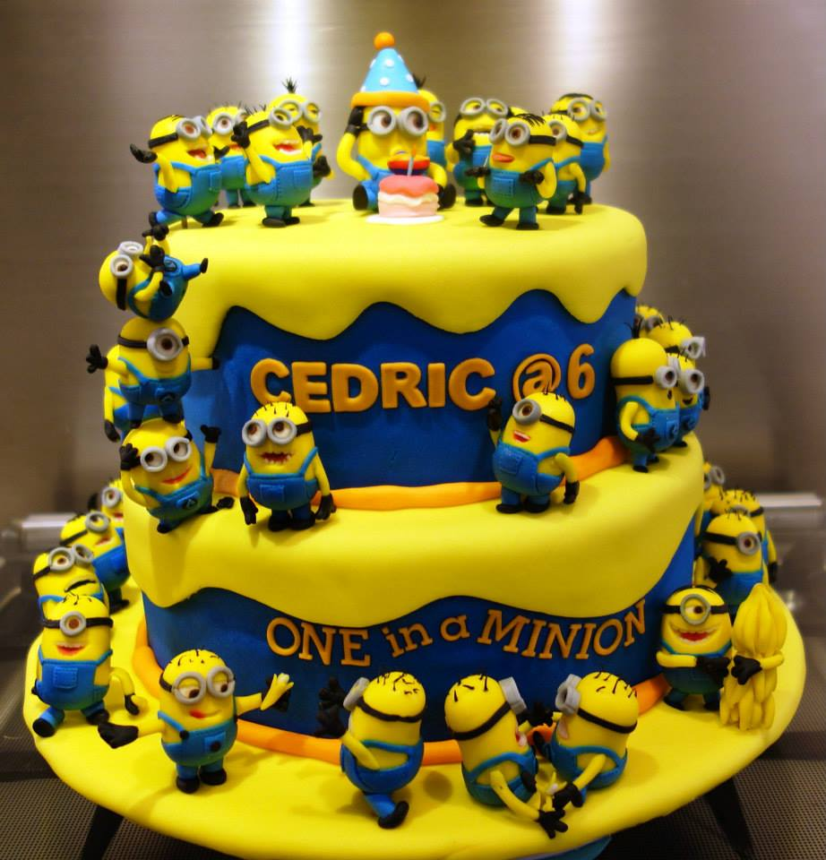 Top 10 Crazy Minions Cake Ideas Birthday Express