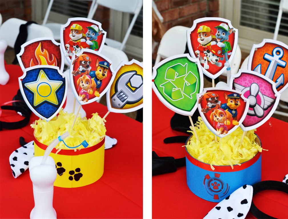 Paw patrol party by brittany schwaigert birthday express