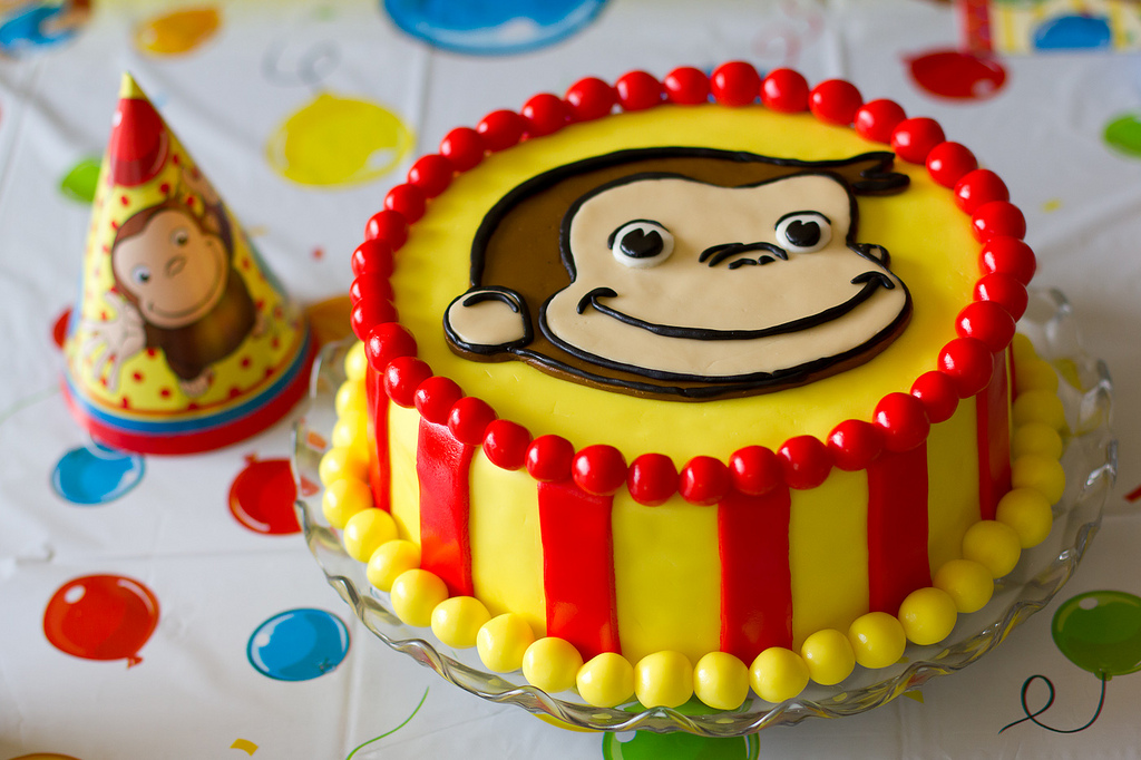 Stupendous Top Ten Curious George Cake Ideas Birthday Express Funny Birthday Cards Online Sheoxdamsfinfo