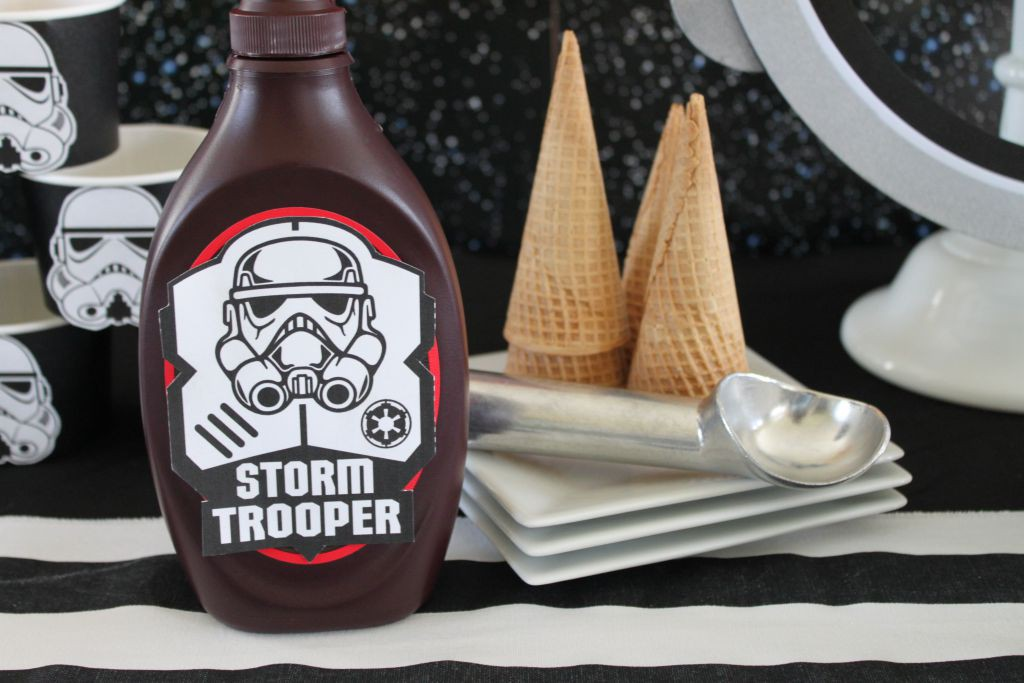 Star Wars Rebel Chocolate Sauce
