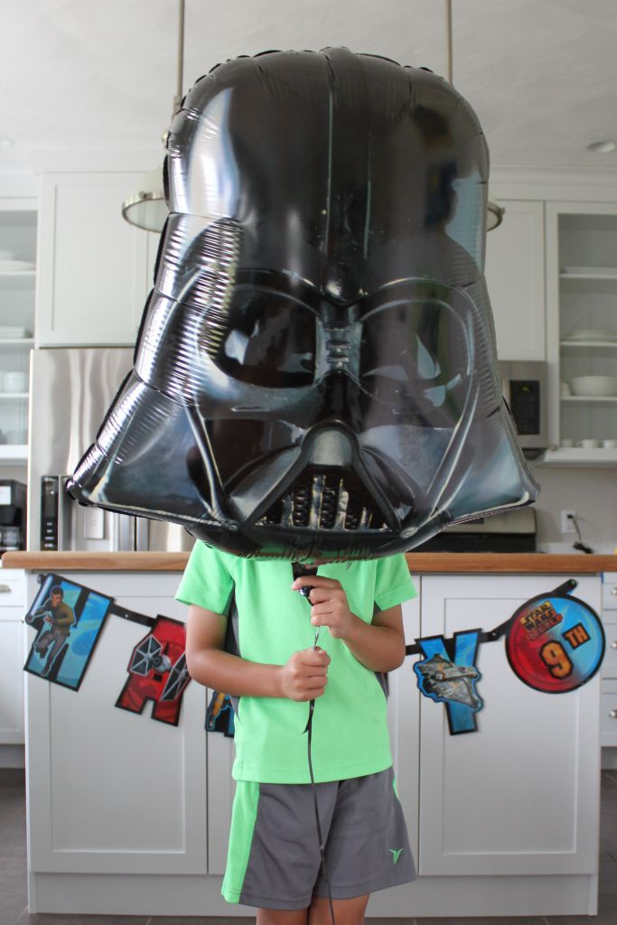 Star Wars Rebel Darth Balloon
