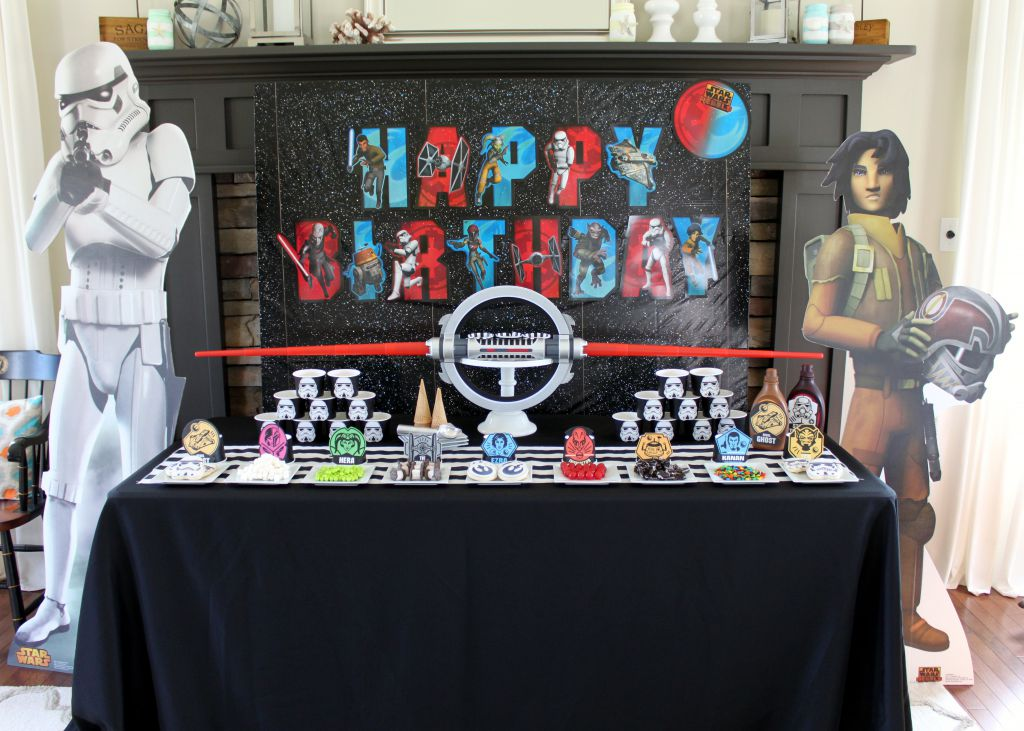 Star Wars Rebel Dessert Table Final