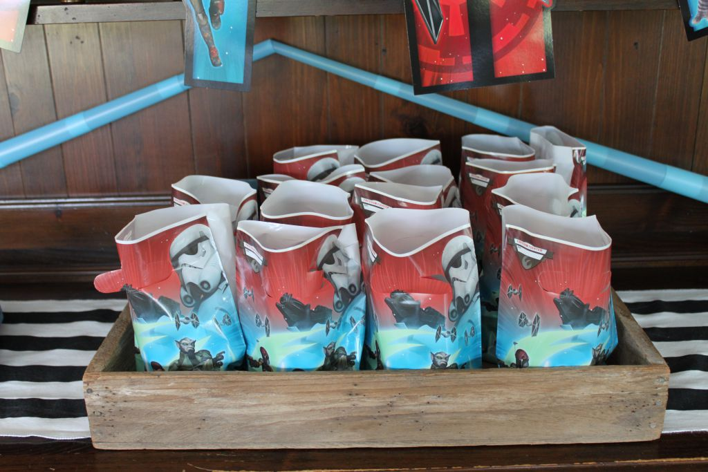 Star Wars Rebel Favor Bags
