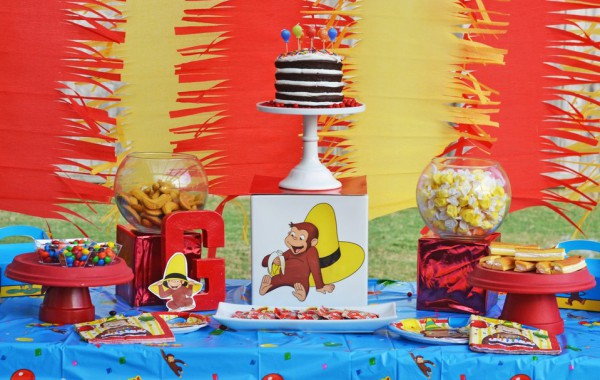 Curious George Party By Brittany Schwaigert