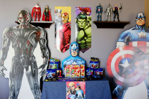 Avengers Birthday Party By Tonya Coleman Boys Themes