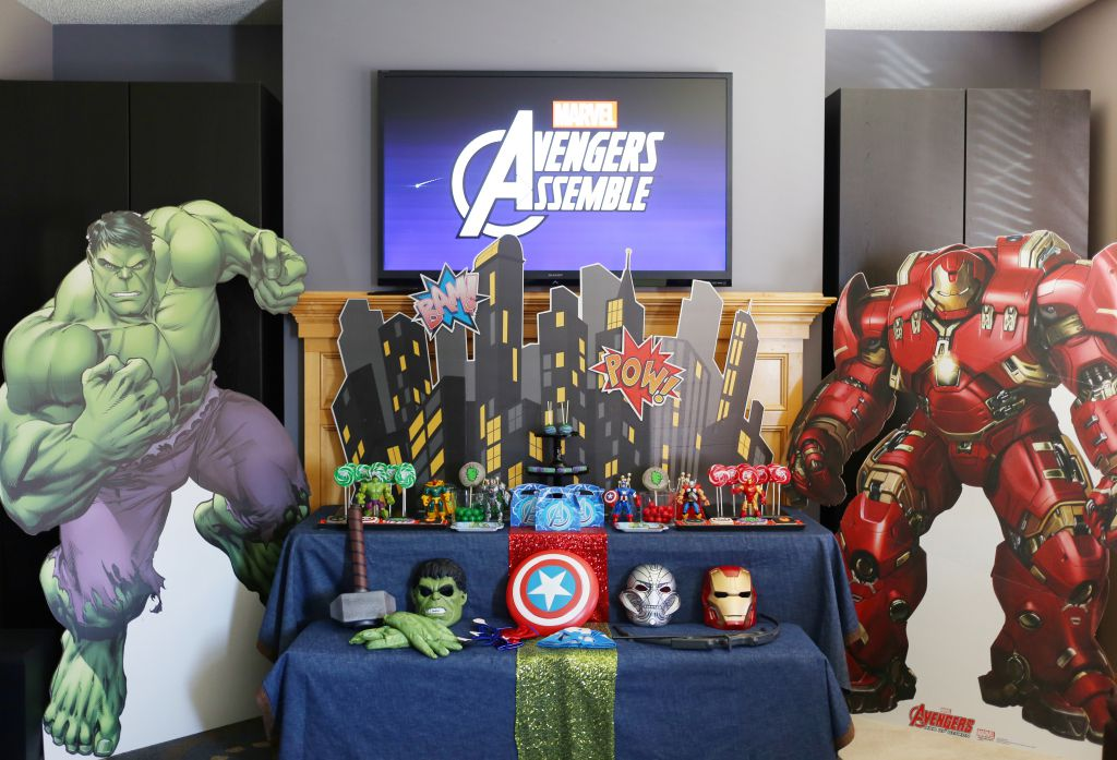 Avengers Birthday Party by Tonya Coleman