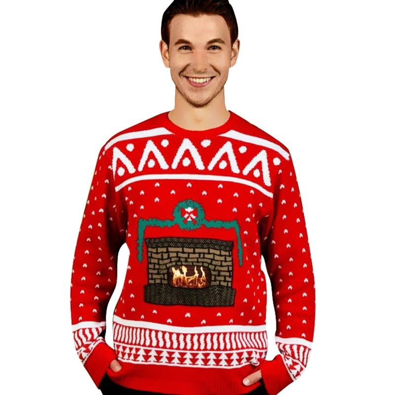 knit-crackling-fireplace-ugly-christmas-sweater-adult-cx-806027