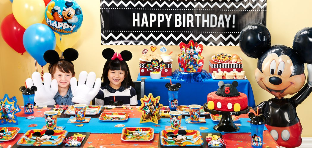 Mickey Mouse Birthday Party Ideas Birthday Express