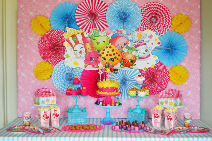 Shopkins Birthday Party By Brittany Schwaigert Birthday