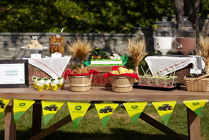 Step By Step John Deere Cake Party Invitations Ideas