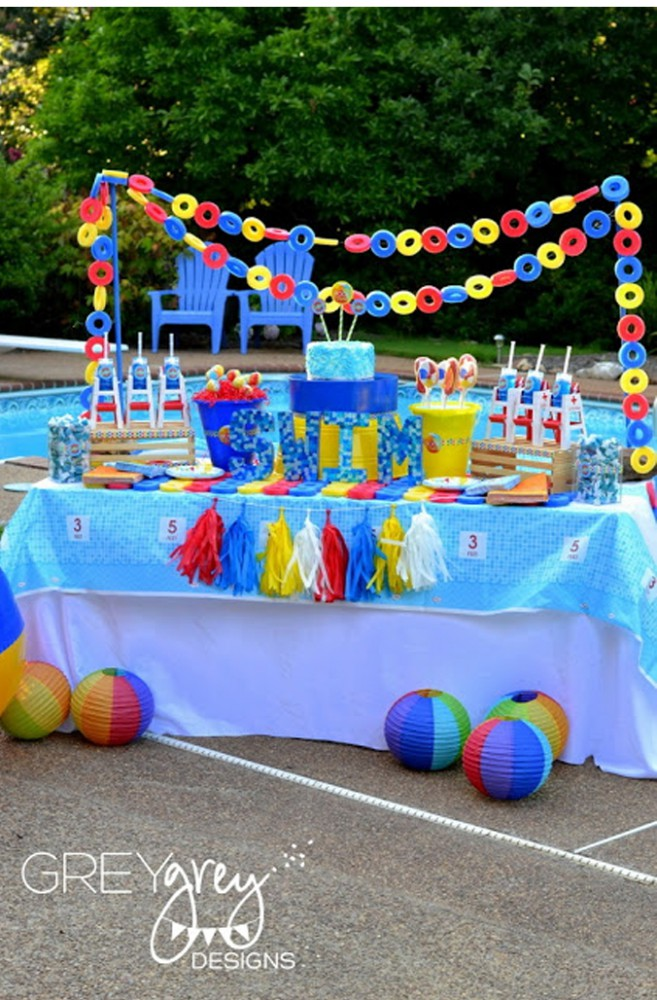 Pool Party Birthday Theme Express