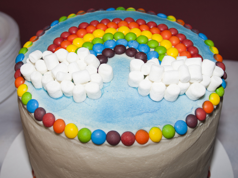Birthday Cake Ideas Rainbow : Rainbow Wishes Party Birthday Express