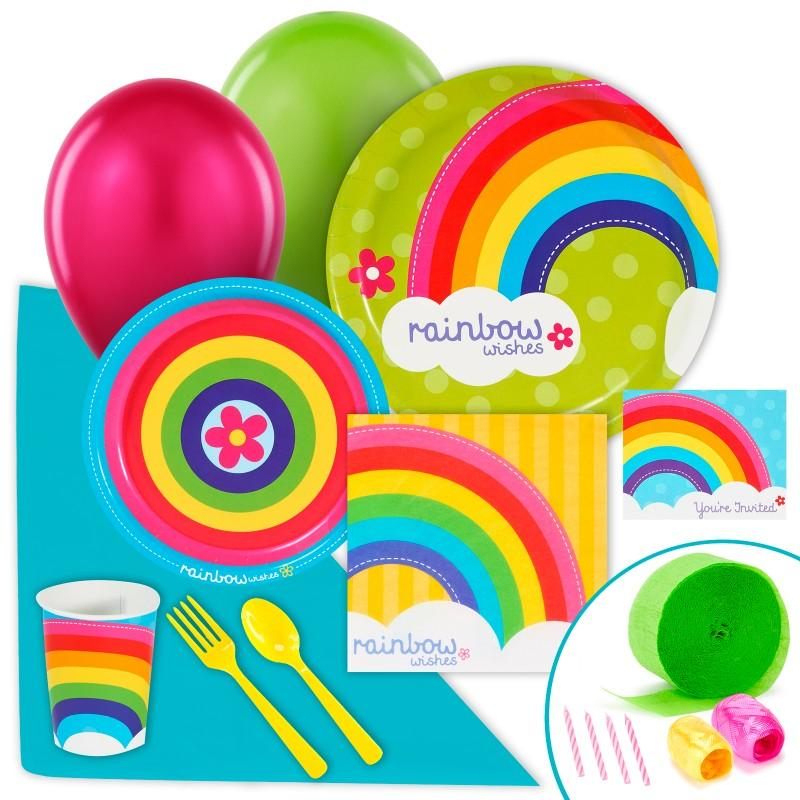 Rainbow Wishes Tableware