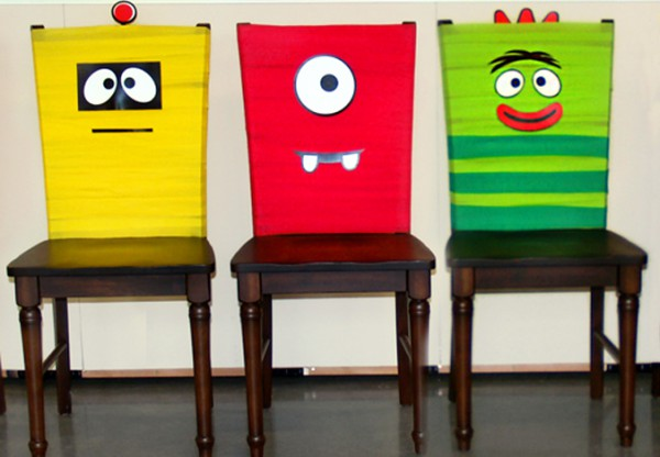 Yo Gabba Gabba Chairs