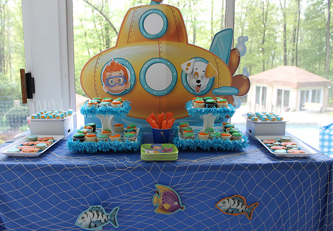 A Bubble Guppies Birthday For Twins Birthday Express