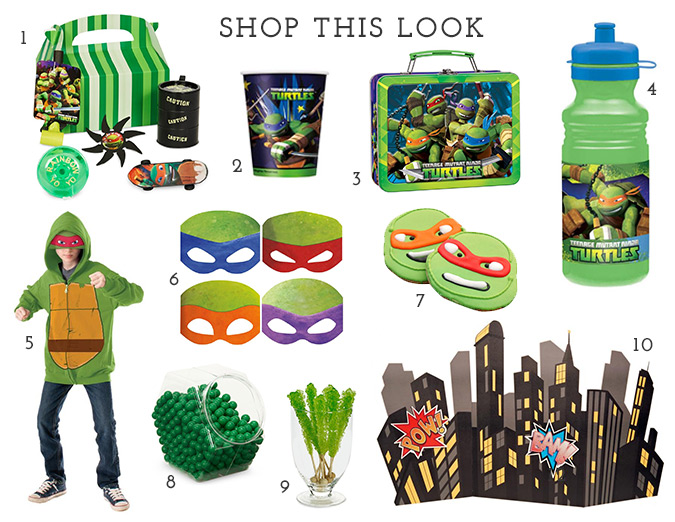 Teenage Mutant Ninja Turtles products available at BirthdayExpress.com