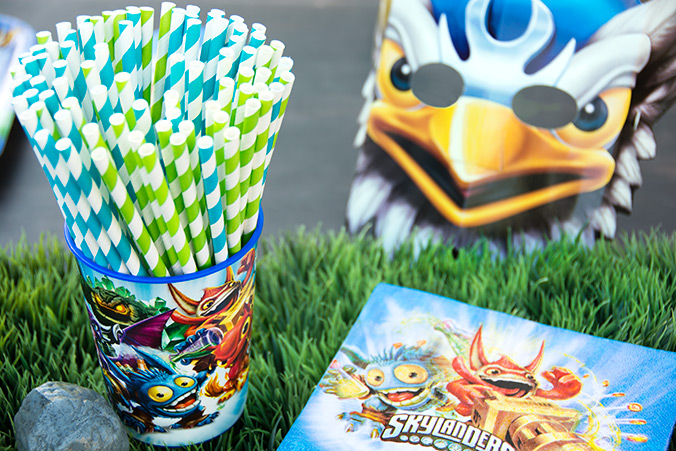 Skylanders party supplies available at BirthdayExpress.com