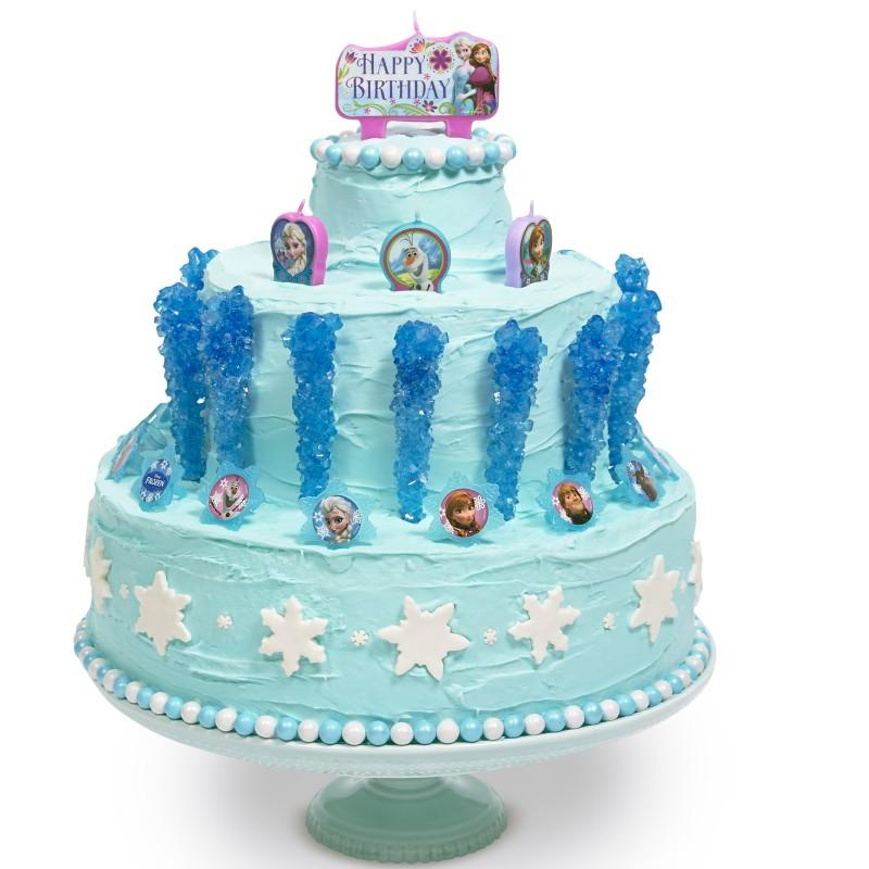 frozen DIY cake decor