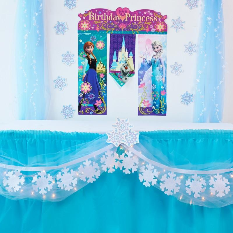 frozen DIY table decor