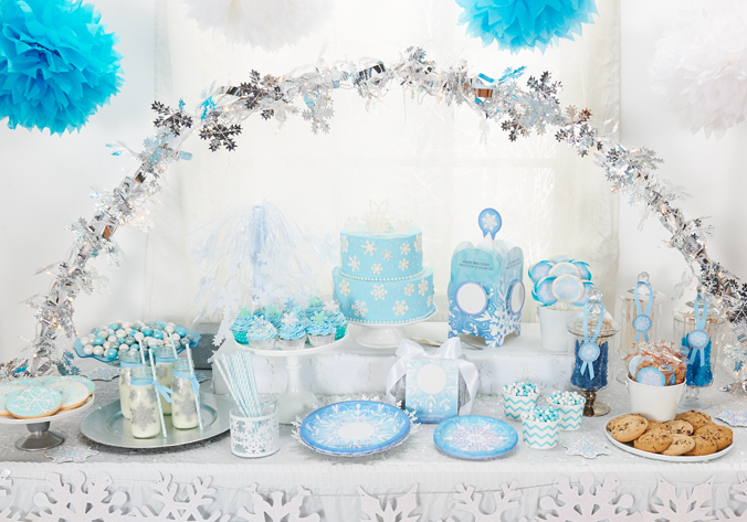 How To Create A Stunning Winter Wonderland Birthday Party Birthday Express