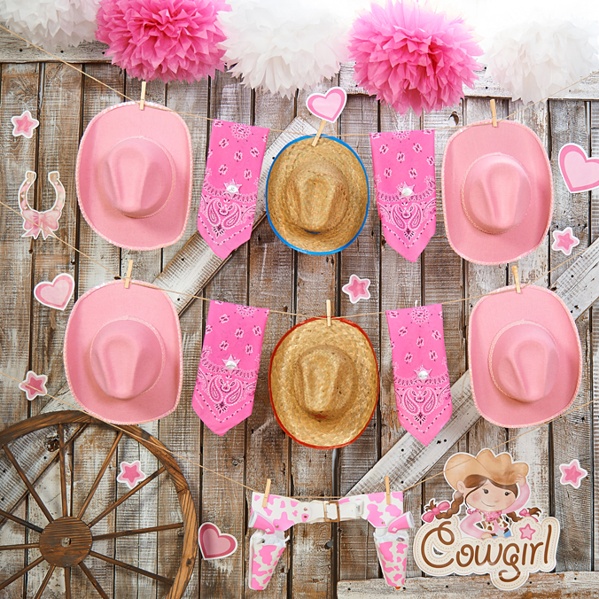 Pink Cowgirl Birthday Party Express