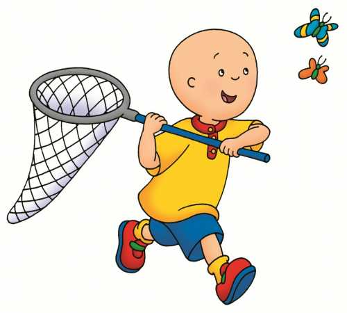 Caillou Birthday Party by Brittany Schwaigert