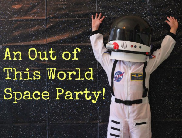 Space Party Title