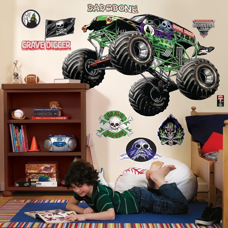 Monster Jam Decals1