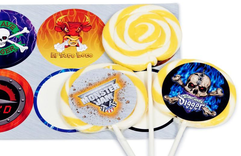 Monster Jam Lollipop Kit